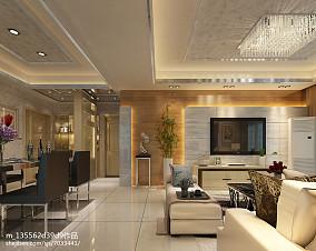 北欧风格三室一厅装修效果图