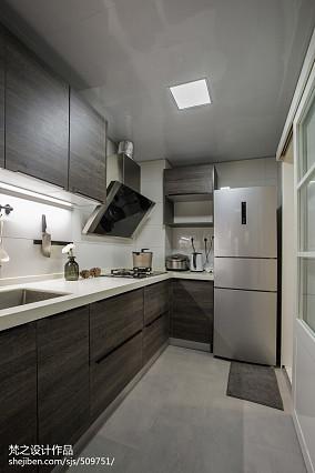 时尚现代风格厨房装修案例