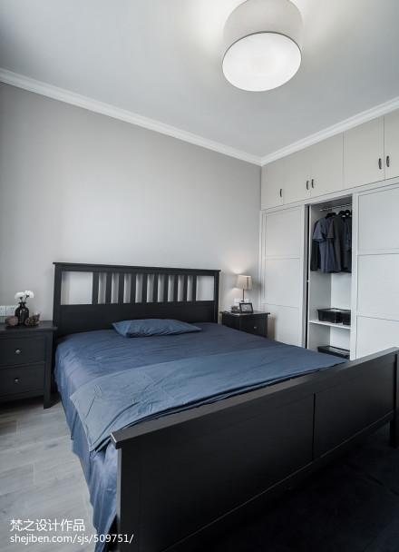 现代风格家居卧室装饰图