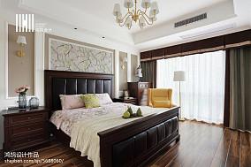 明亮107平美式四居设计案例四居及以上美式经典家装装修案例效果图