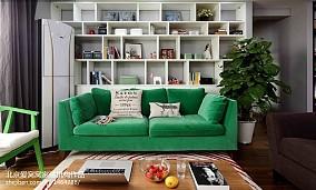 悠雅90平现代二居装修图片客厅现代简约设计图片赏析