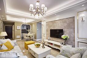 家装混搭风格背景墙设计一居潮流混搭家装装修案例效果图