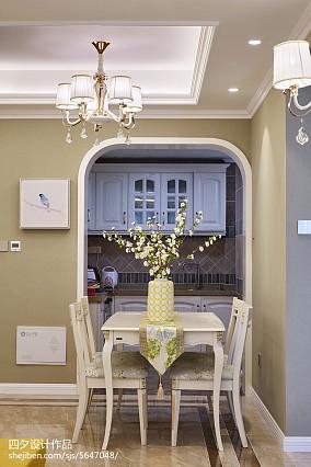 优美29平混搭小户型餐厅图片欣赏一居潮流混搭家装装修案例效果图