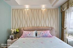 热门面积82平小户型卧室混搭实景图片大全一居潮流混搭家装装修案例效果图