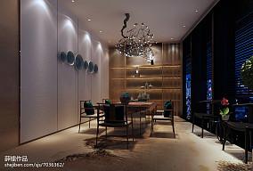 豪华时尚中式别墅室内装修图