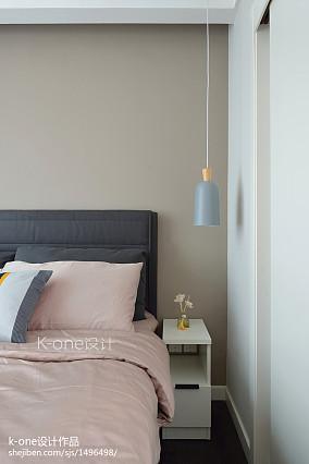 201882平米二居卧室简约装修图片大全