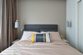 热门90平米二居卧室简约效果图片欣赏
