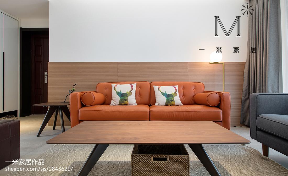 热门70平米二居客厅现代装修实景图片欣赏客厅沙发现代简约客厅设计图片赏析