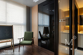 201878平米二居书房现代装修图片欣赏