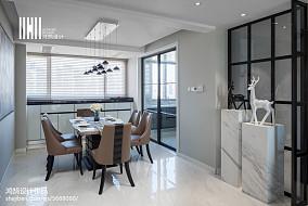 平现代三居设计案例三居现代简约家装装修案例效果图