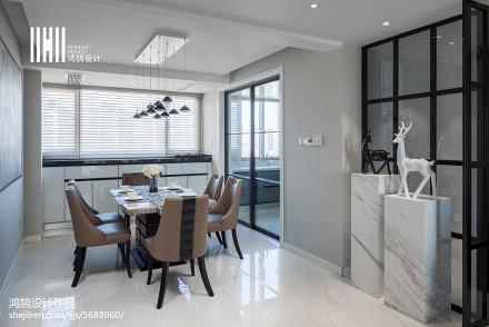 201974平现代三居设计案例