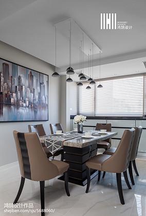 精美123平现代三居装修图三居现代简约家装装修案例效果图