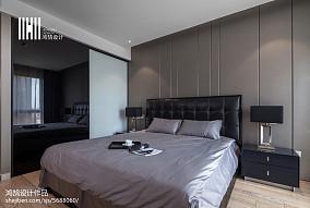 精美大小107平现代三居卧室装饰图片大全三居现代简约家装装修案例效果图