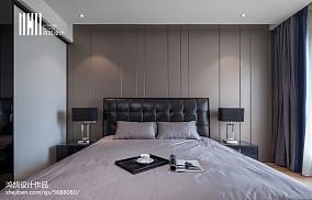 精选面积93平现代三居卧室装修图片欣赏三居现代简约家装装修案例效果图