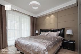 精选面积108平现代三居卧室装饰图片大全