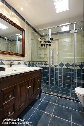 美式风格家居卫浴设计图卫生间美式经典设计图片赏析