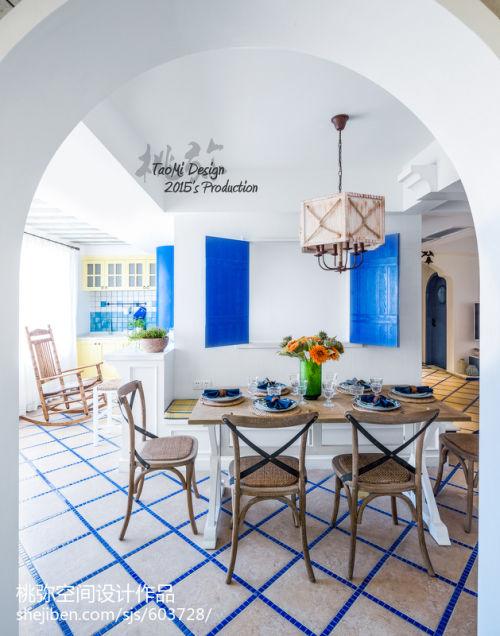 2018三居餐厅地中海效果图片大全厨房榻榻米1图