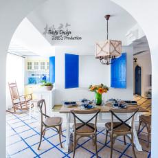 2018三居餐厅地中海效果图片大全