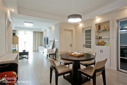 简洁105平现代二居设计美图厨房
