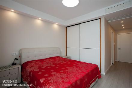 优雅81平现代二居卧室美图卧室