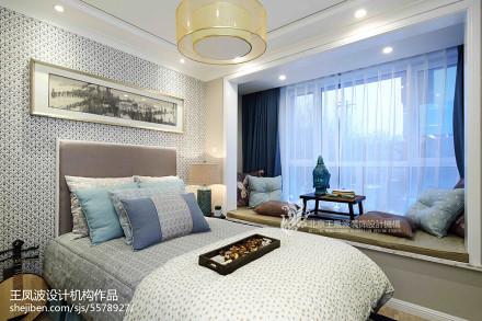 热门卧室中式装修图片卧室