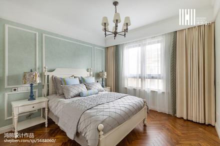 华丽117平美式四居装修图片