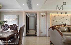 2018精选欧式二居餐厅装修效果图片大全二居欧式豪华家装装修案例效果图