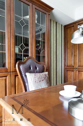 热门面积73平欧式二居书房装修实景图片家装装修案例效果图