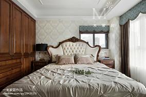 质朴67平欧式二居卧室装潢图