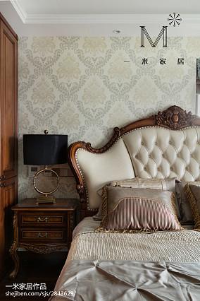 2018欧式二居卧室装修图二居欧式豪华家装装修案例效果图