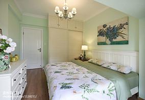 家装美式风格卧室设计装修