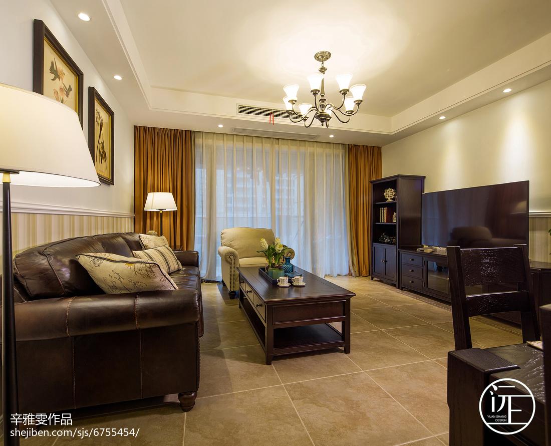 美式典雅家装背景墙效果图卧室美式经典卧室设计图片赏析