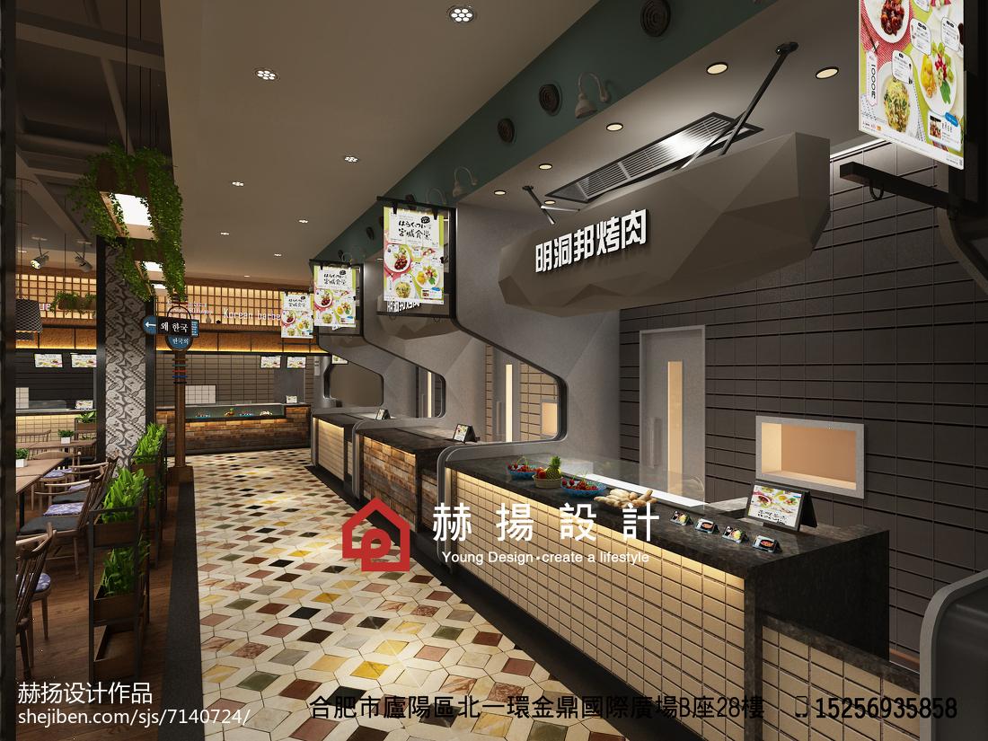 中式火锅店装修图设计图片赏析