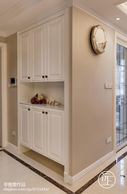 平米二居玄关欧式装修设计效果图片大全玄关