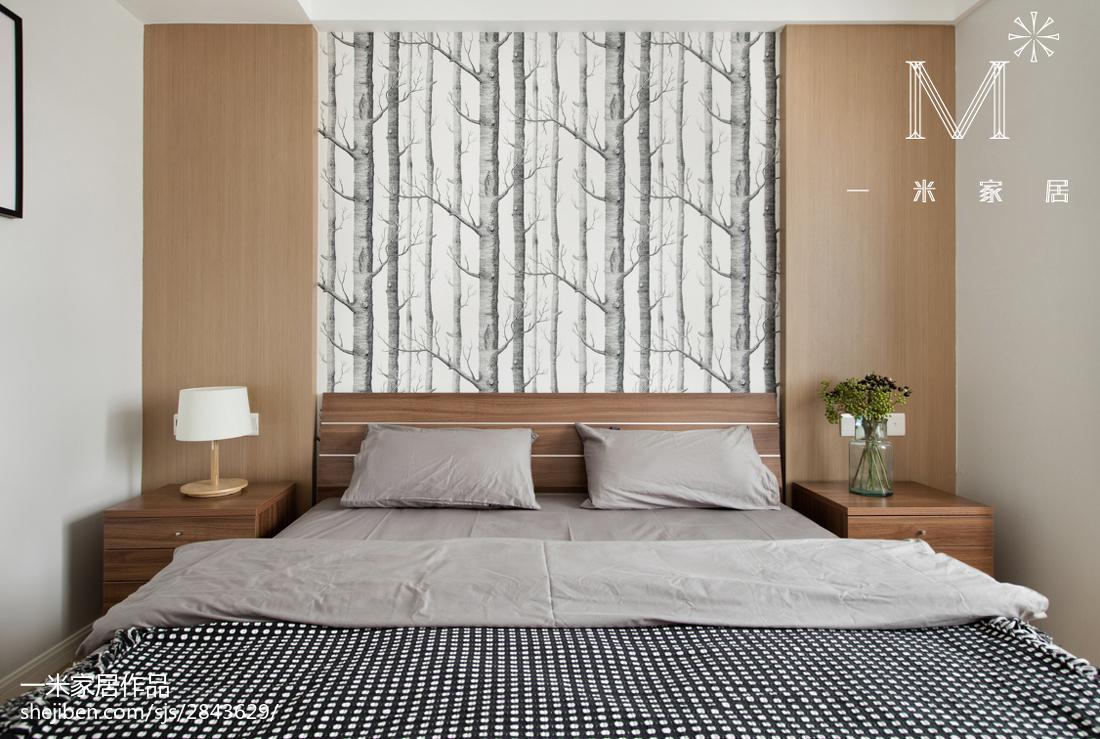 精选75平米现代小户型卧室效果图片卧室现代简约卧室设计图片赏析