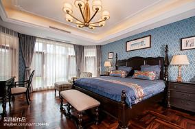 平米欧式别墅卧室实景图片欣赏别墅豪宅欧式豪华家装装修案例效果图