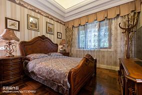 精美面积111平别墅卧室欧式装修图别墅豪宅欧式豪华家装装修案例效果图