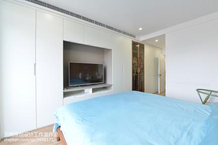 精美北欧二居卧室装修欣赏图卧室