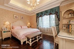 温馨欧式风格家居卧室布置别墅豪宅欧式豪华家装装修案例效果图