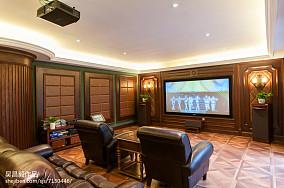 欧式风格家居视听室装修图别墅豪宅欧式豪华家装装修案例效果图