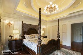 面积135平别墅卧室欧式装修设计效果图片欣赏别墅豪宅欧式豪华家装装修案例效果图