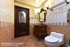 精选面积122平别墅卫生间欧式欣赏图片大全