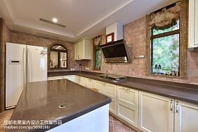 精选117平米四居厨房欧式装修设计效果图片欣赏