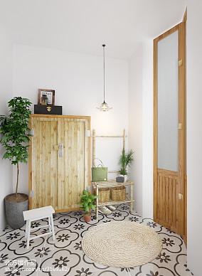 精美中式小户型玄关装修实景图