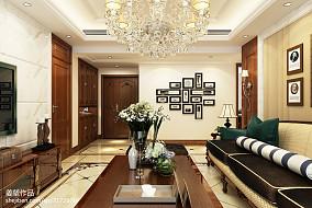 热门90平米三居客厅简欧装修欣赏图片