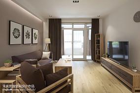 2018精选面积95平日式三居客厅效果图片欣赏