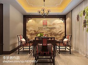 中式楼梯栏杆图片