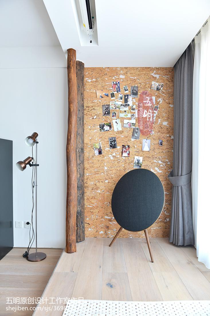 北欧风格照片墙装修效果图客厅北欧极简客厅设计图片赏析
