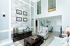 精选102平方三居客厅欧式实景图片欣赏