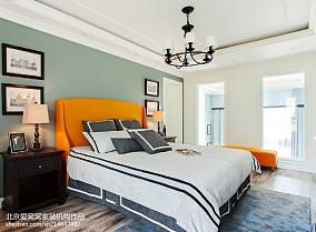 面积102平欧式三居卧室装修设计效果图片欣赏